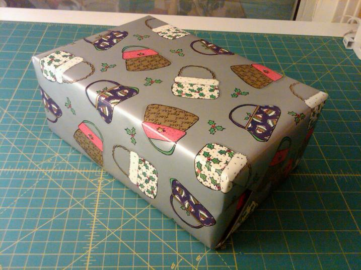 First Wrapped Gift 2012