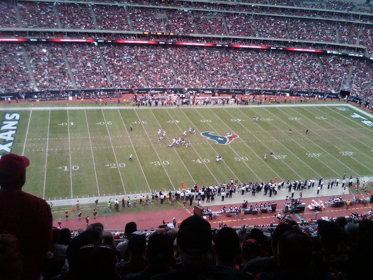 Texans Game Field