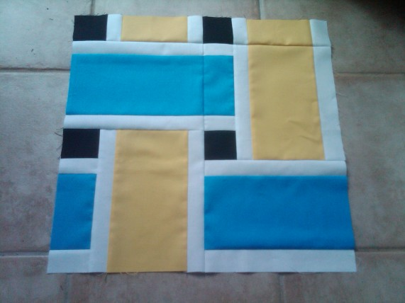 Rally Quilt Block 1