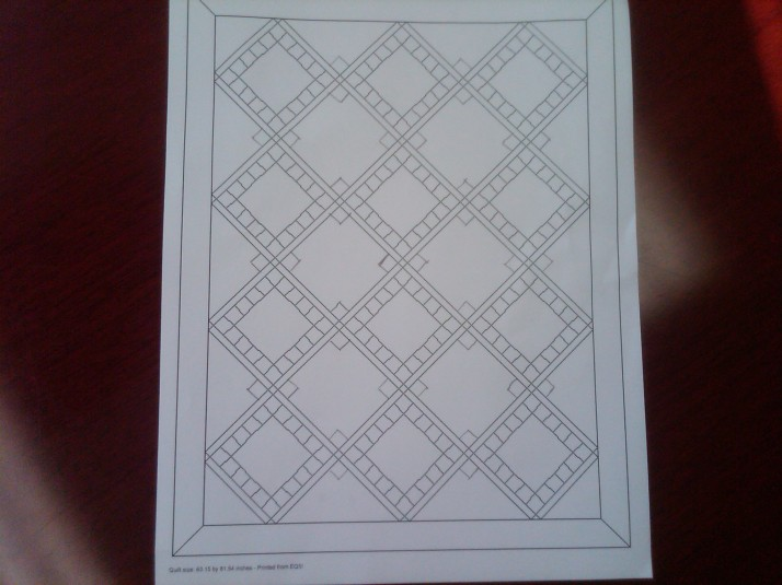 Birdie Stitches Block Layout