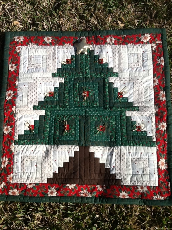 Christmas Tree Wall Hanging 1