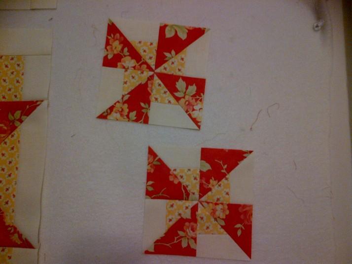FQS BOM Block 4 Pinwheels