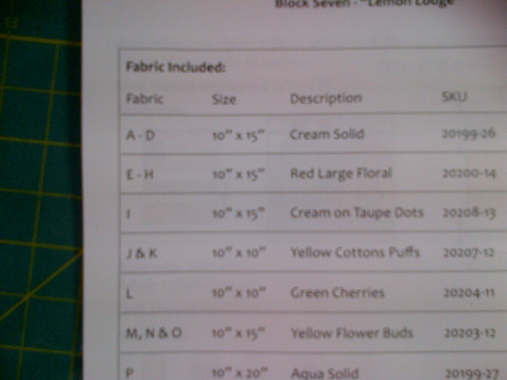 FQS BOM Instructions
