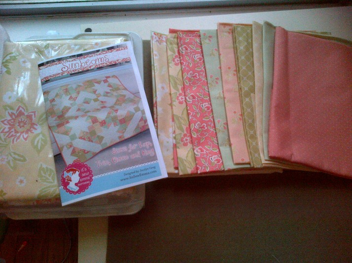Sunbeams Quilt Kit