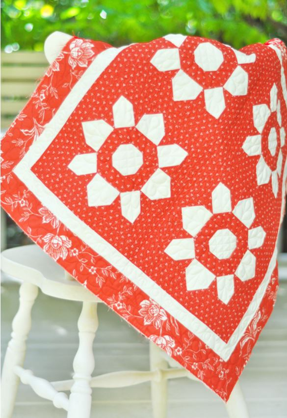 Red White Blossom