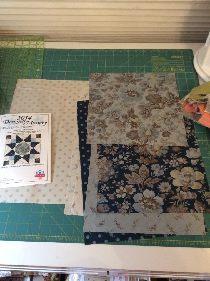 2014 Block 1 fabric