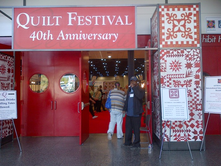 Quilt Festival Doors